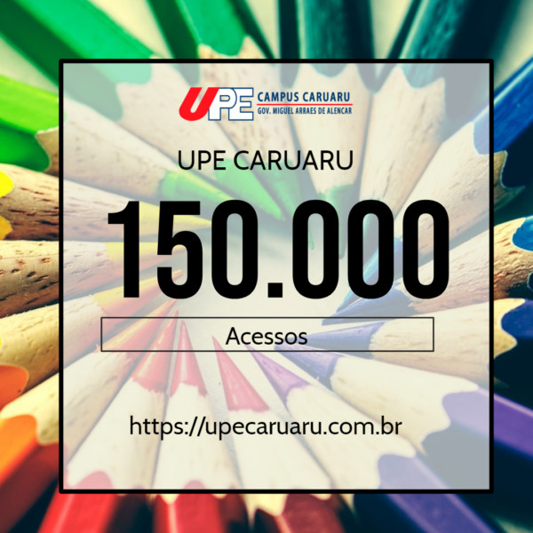 Site da UPE Caruaru atinge 150.000 visitas na web e ganha nova interface