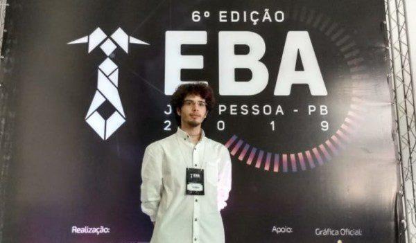 Discente da UPE Caruaru apresenta artigo no EBA