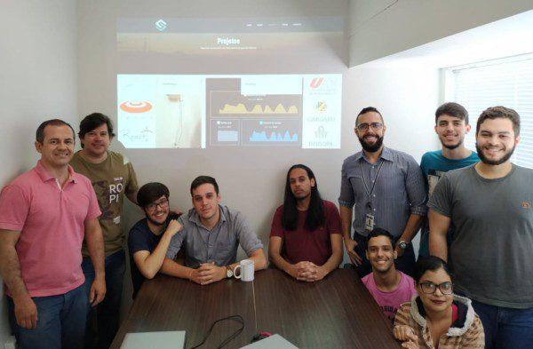 Disciplina de Gestão de Projetos da UPE Caruaru in company no SMART Labs