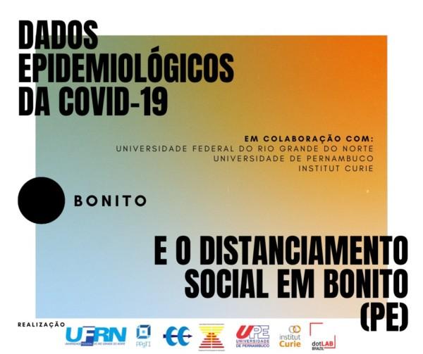 Dados epidemiológicos da COVID-19 e o distanciamento social em Bonito (PE)