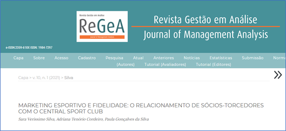 Ex-aluna e professoras do curso de Administração da UPE Caruaru publicam artigo na ReGeA